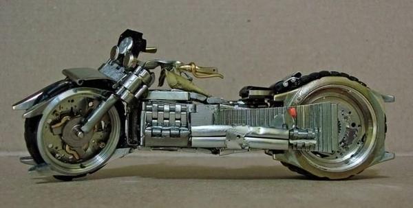 手錶做成的摩托車03