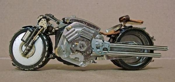手錶做成的摩托車05