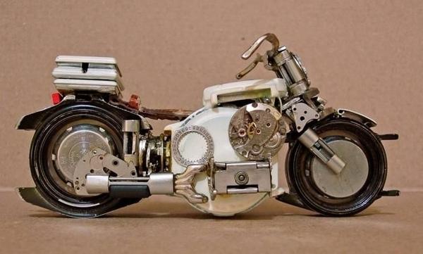 手錶做成的摩托車07