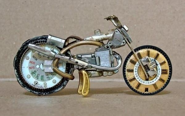 手錶做成的摩托車08