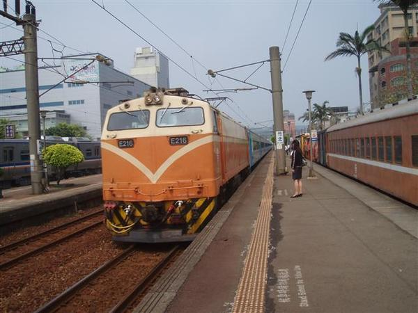 竹北坐火車出發囉
