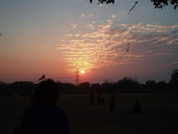 都會公園-日落