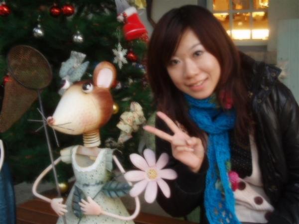 青境花墅-門口的老鼠