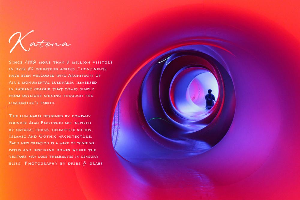 KATENA光影幻境來自英活的奇幻展覽