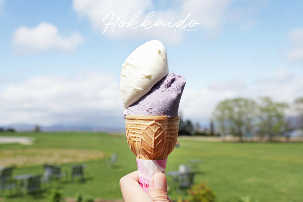 北海道冰淇淋甜點