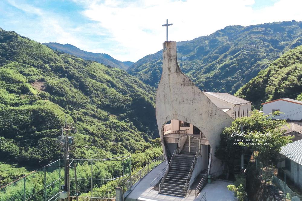 桃園拉拉山秘境諾亞方舟加拉教堂09.jpg