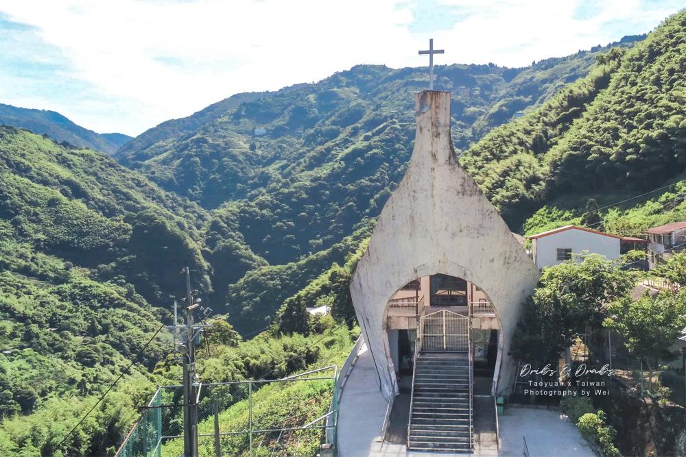 桃園拉拉山秘境諾亞方舟加拉教堂10.jpg