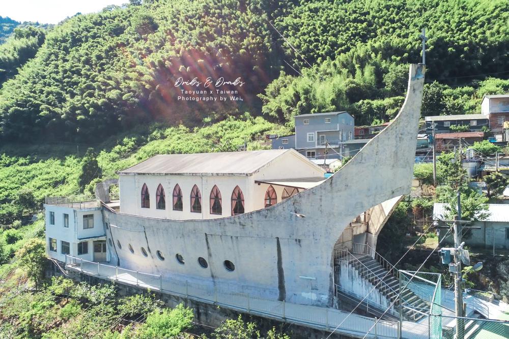 桃園拉拉山秘境諾亞方舟加拉教堂11.jpg