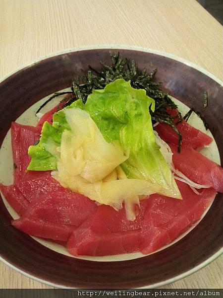 鮪魚丼飯-8片