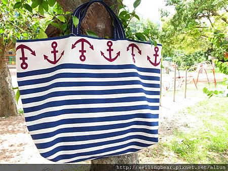 夏日風雙用布包-12