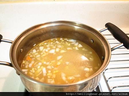 蔬菜湯步驟