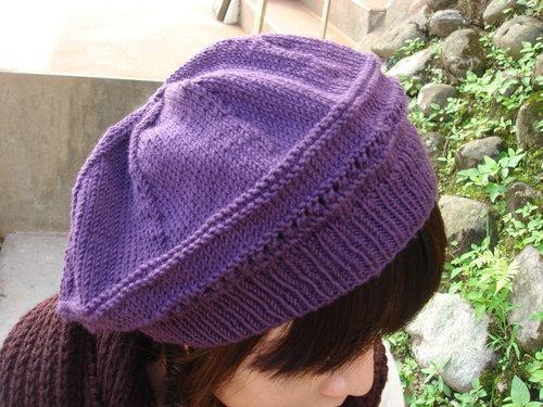 紫色貝蕾帽1.jpg