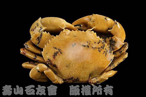 C1880_石_壽山石_青田水草紋_梭子蟹(林樹岳)