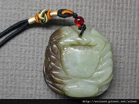 C0130_和闐帶皮青玉