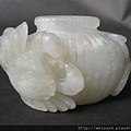 C0317_和闐白玉_螃蟹與竹簍
