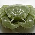 C1849_和闐青玉_螃蟹