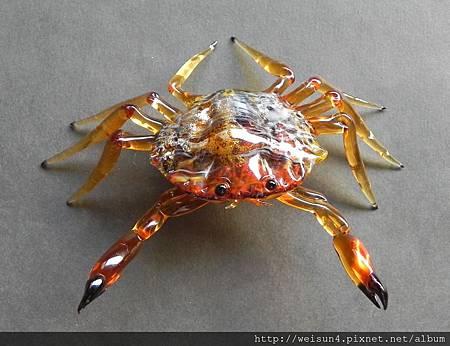 C1696_玻璃螃蟹(Vittorio costantini)
