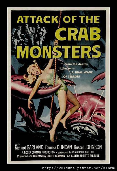 C1933_磁鐵_Crab monsters