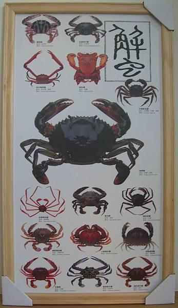 C0809_海報_螃蟹掛圖