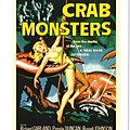 C1934_明信片_Crab monsters
