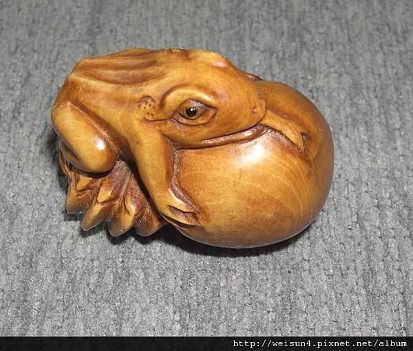 C0374_根付_青蛙&螃蟹(丰盛)