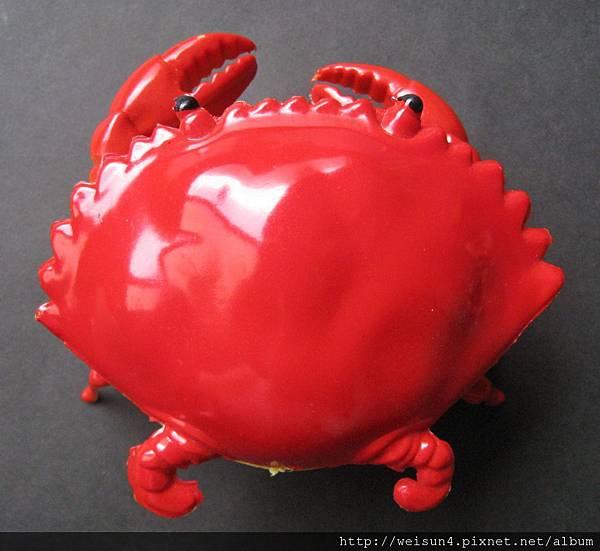 C0254_發條紅螃蟹