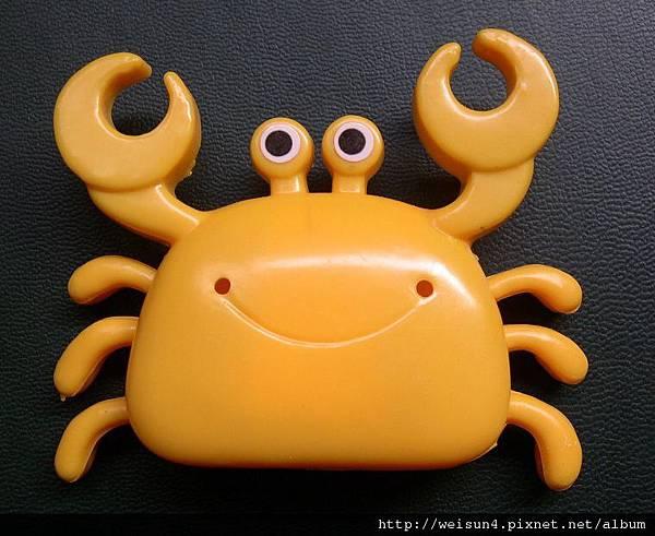C0580_黃色八足螃蟹