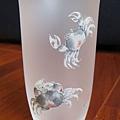 C0954_雙蟹玻璃杯