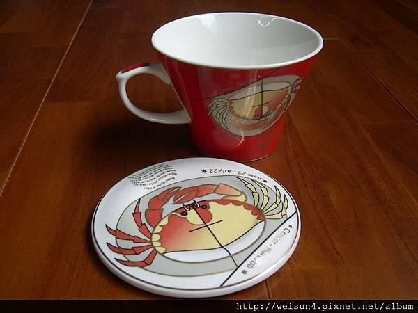 C0712_彩繪巨蟹座咖啡杯