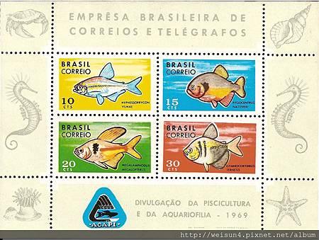 C1360_普通黃道蟹_Brazil_1969