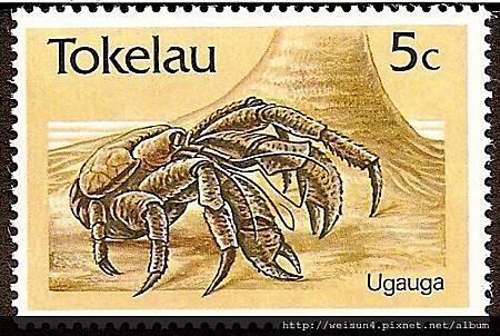 C1498_椰子蟹_Tokelau_1986