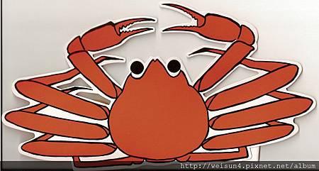 C0488_螃蟹道樂紙帽_松葉蟹