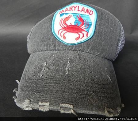 衣_C0606_螃蟹網帽