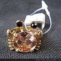 首飾_戒指_C0805_黃色珠寶螃蟹戒指