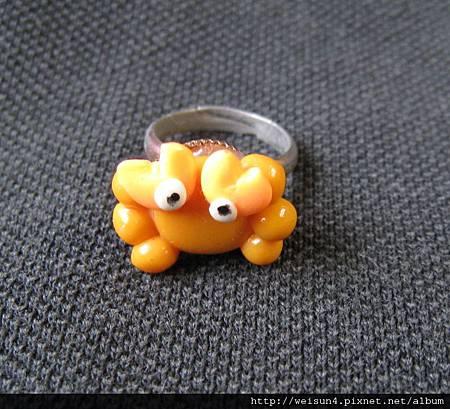 首飾_戒指_C0908_螃蟹玩具戒指