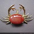 首飾_胸針_C1290_瑪瑙螃蟹