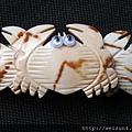 首飾_髮夾_C1221_貝殼螃蟹