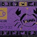 Cx_C0196_日本電話卡_巨蟹座