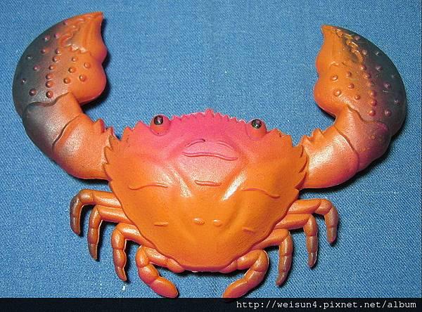 C0788_玩具_塑膠磁鐵螃蟹