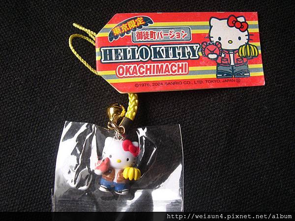 首飾_吊飾_C0840_Hello Kitty香蕉&螃蟹