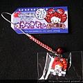 首飾_吊飾_C0842_Hello Kitty大阪道樂螃蟹