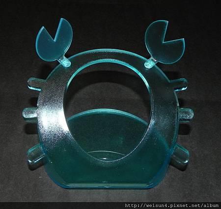 3C_C1952_手機座_藍色螃蟹