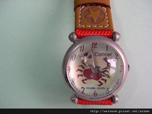 行_C0048_手錶_巨蟹座