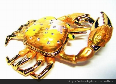 首飾_盒_C0412_LaFinia 螃蟹珠寶盒