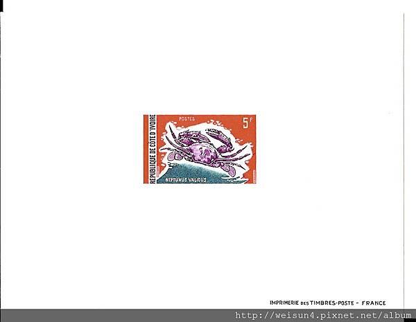 C0564_試模票_象牙海岸螃蟹_強壯單氏蟹