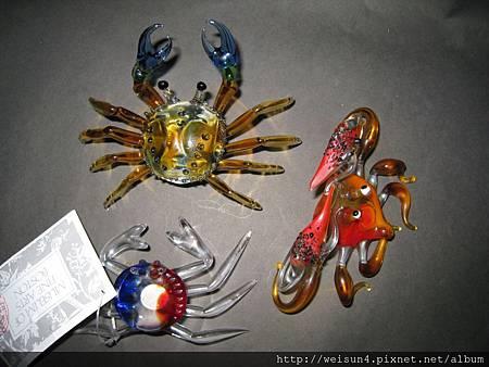 玻璃_螃蟹x3