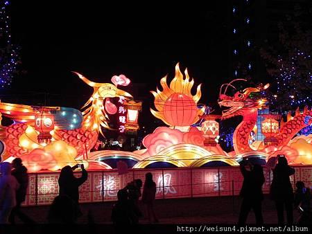 竹北燈會2_DSCN0975_龍鳳呈祥