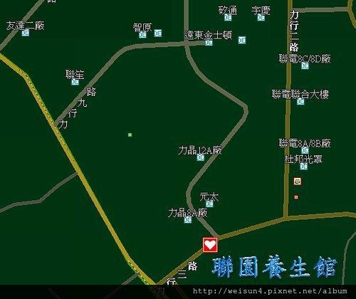 太極_場地_聯園地圖