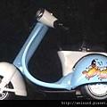 行_C0404_偉士牌摩托車模型_巨蟹座