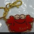 鑰匙圈_C1872_可愛紅蟹_Kani.jpg